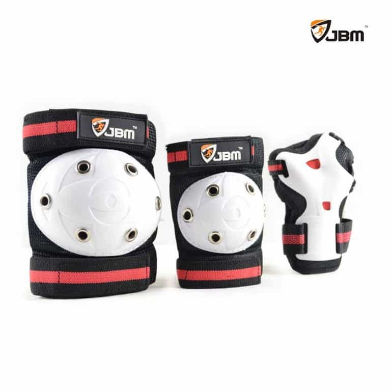 JBM Children Kids Elbow Knee Pads Toddler Kid Wrist Guard for Skating Scooter Roller and BMX