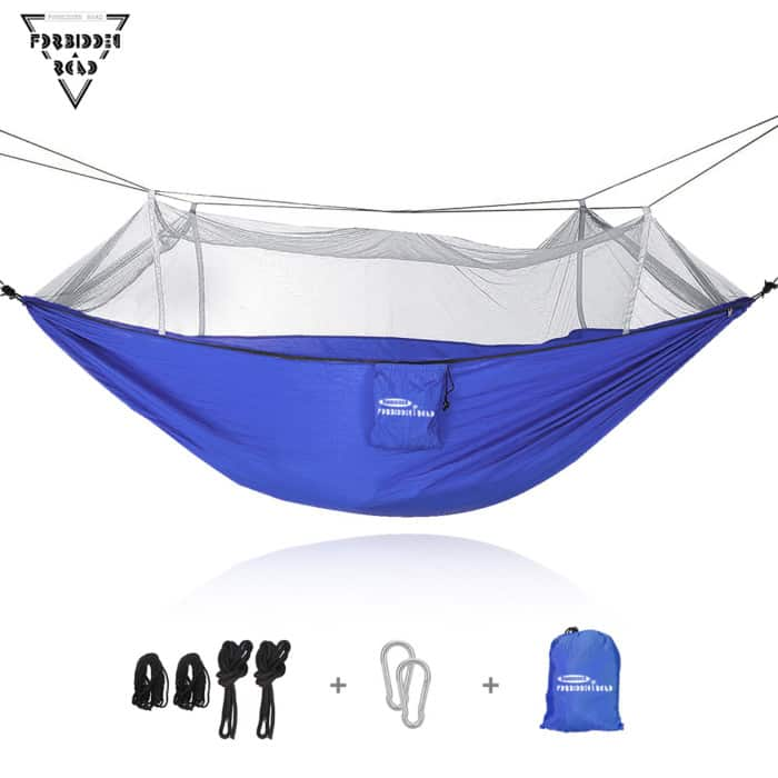 Forbidden Road Outdoor Mosquito Net Hammock ...